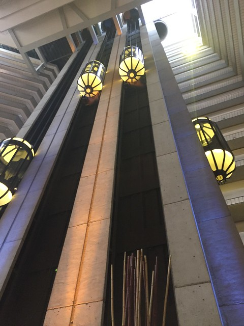 Hyatt Regency SF atrium