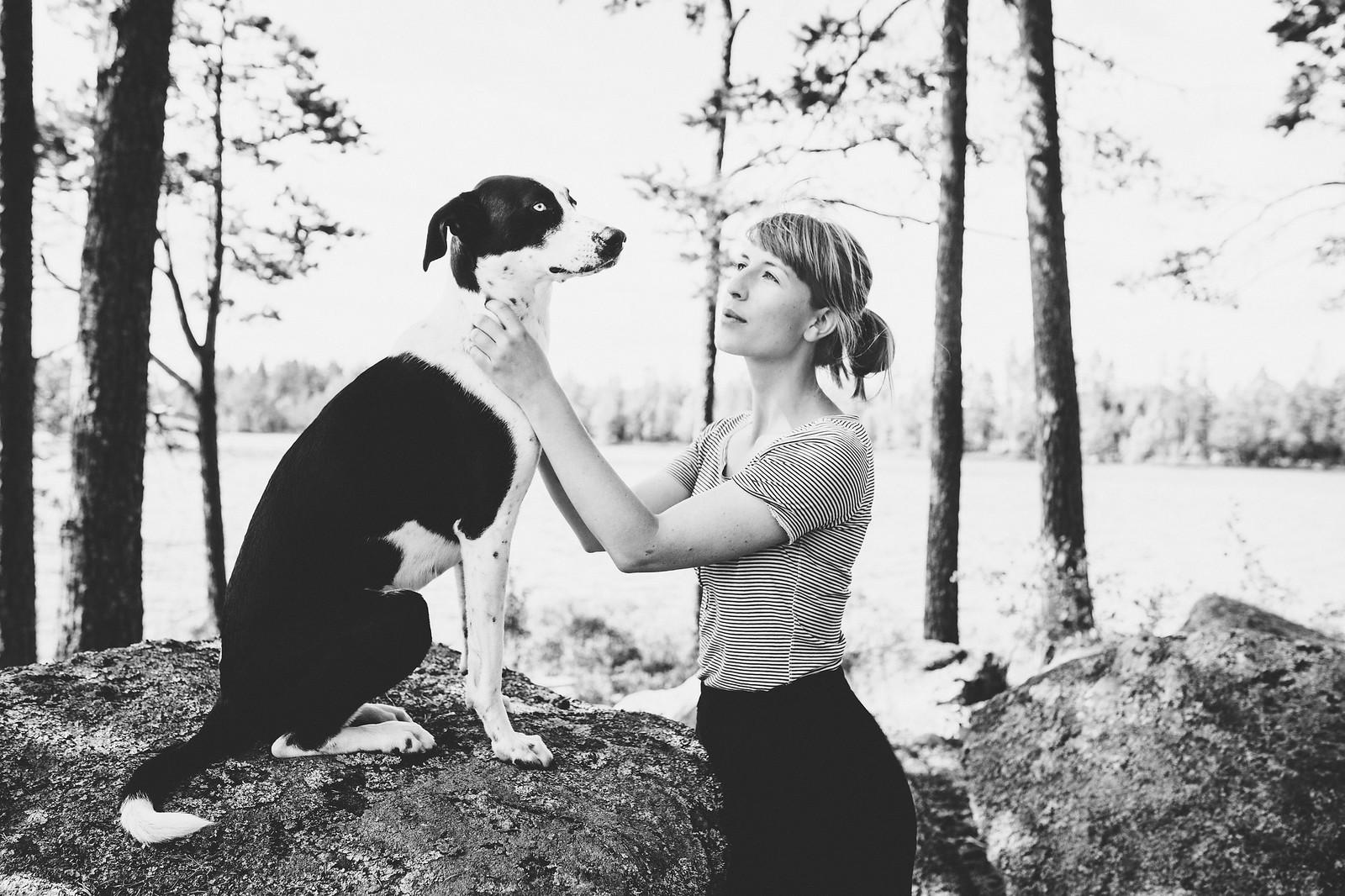 Hunden Elsie / Evelinas Ekologiska