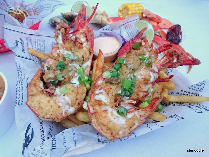 Loaded Lobster Fries