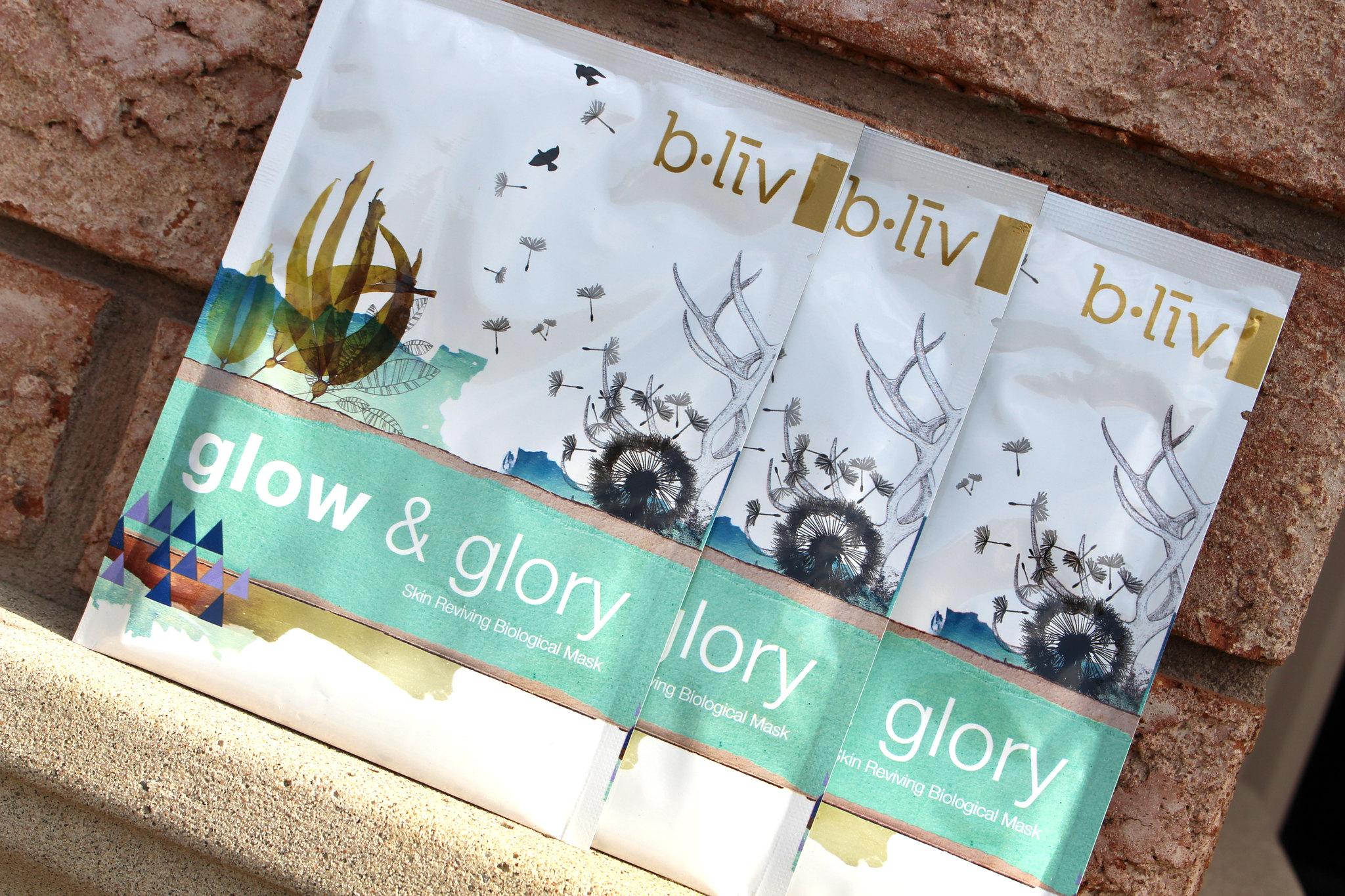 Bliv Glow & Glory Skin Reviving Biological Mask