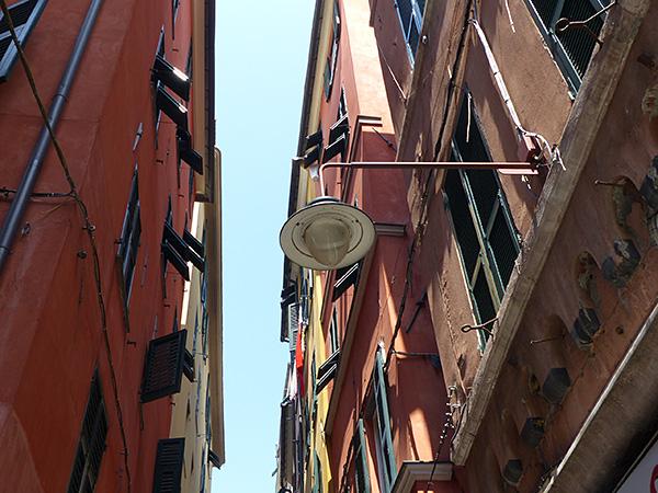 façades rouges