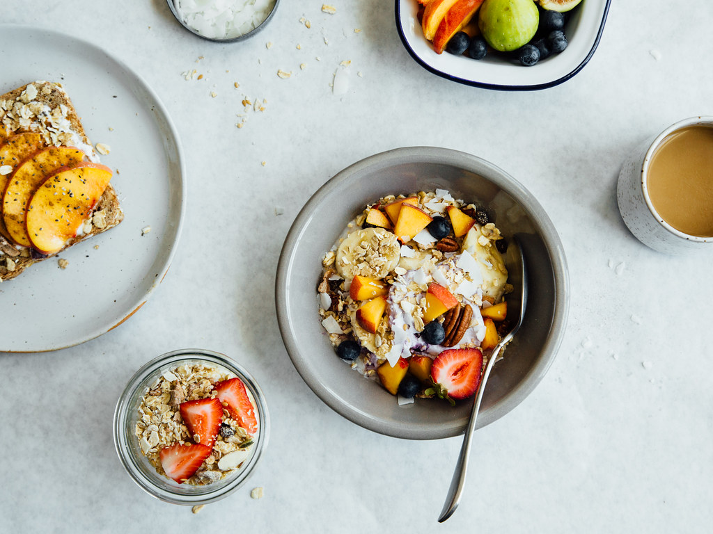 Three delicious ways to eat muesli