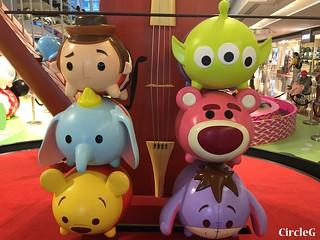 CIRCLEG 九龍塘 又一城 DISNEY TSUM TSUM 壽司 「Disney Tsum Tsum Walk N Roll Festival (21)