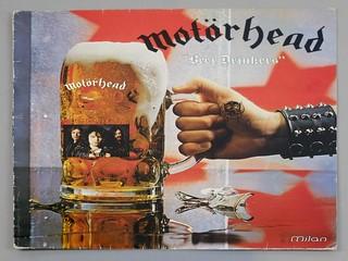 """MOTORHEAD BEER DRINKERS 12"""" LP VINYL"""