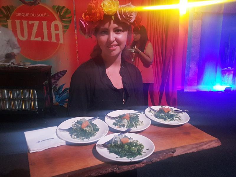 Cirque du Soleil Luzia food