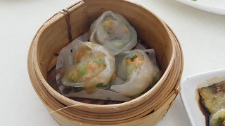 Chicken and Bok Choy Dumplings from Easy House