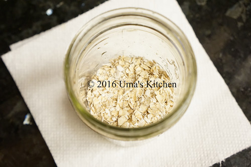 Overnight blueberry oats 1