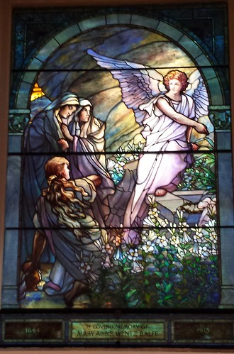 Tiffany Window View 4: Empty Tomb