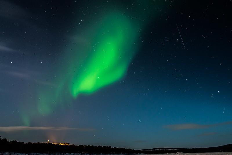 Aurora en Inari