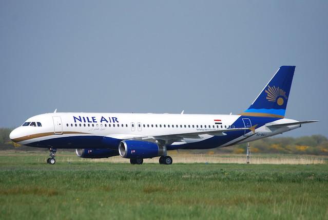 SU-BQJ A320 NILE AIR