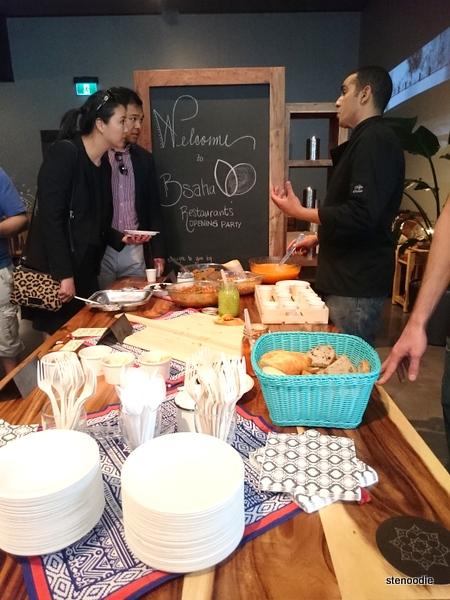 B'saha Restaurant opening party