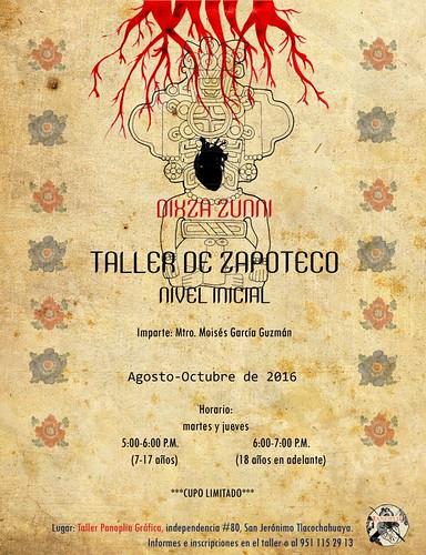 Dixza Zunni: Taller de Zapoteco @BnZunni