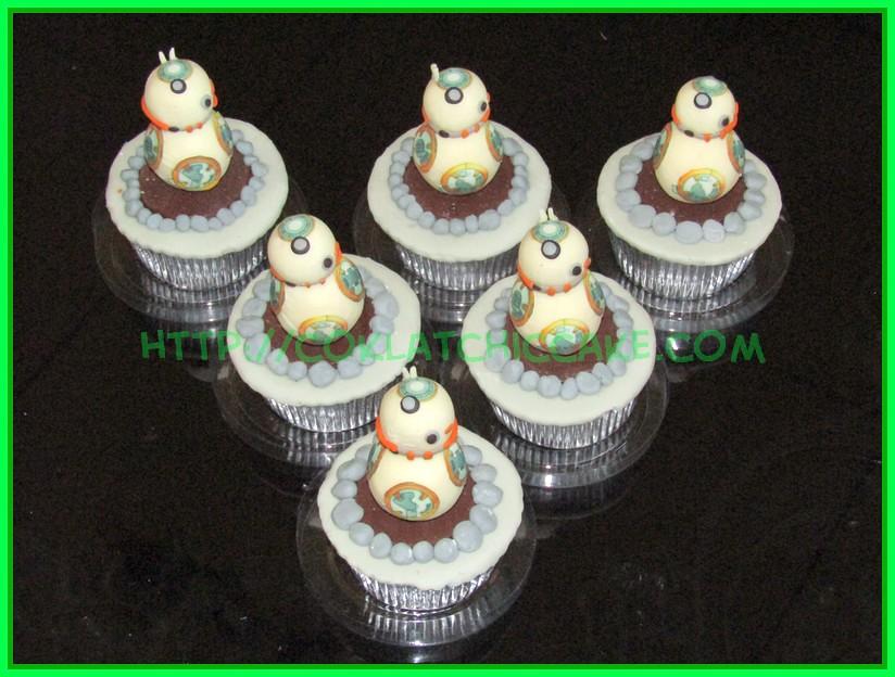 cupcake BB8