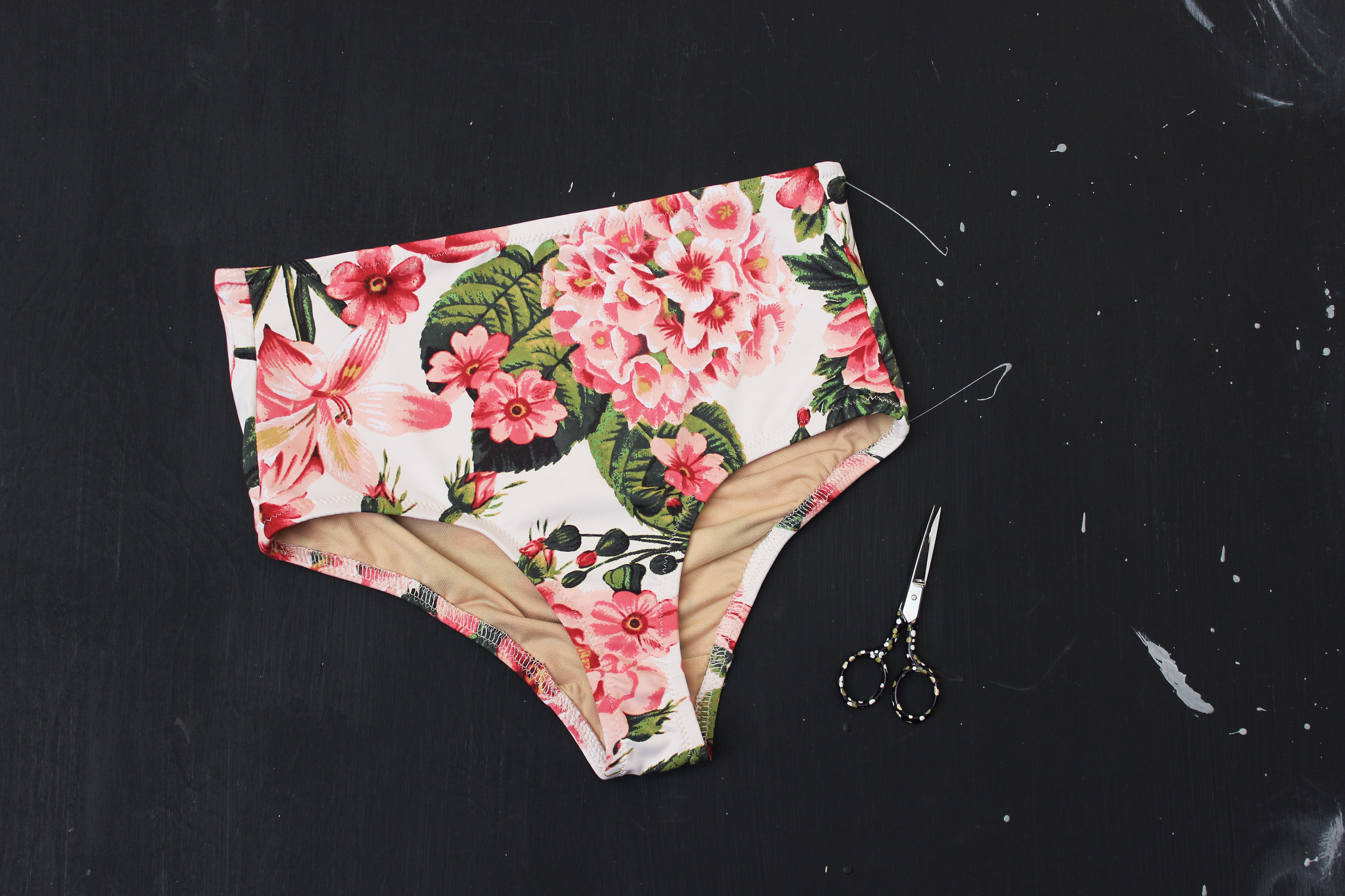 Floral Noelle Swimwear Panty Bottom Tailor Made Shop