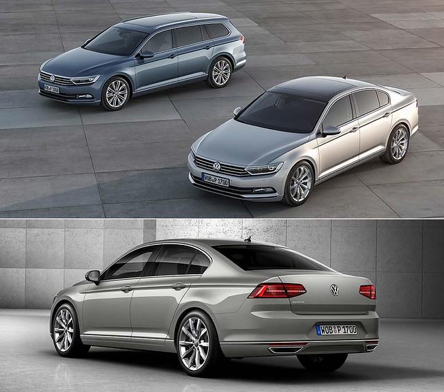 Седан и универсал Volkswagen Passat B8. 2014 - наше время
