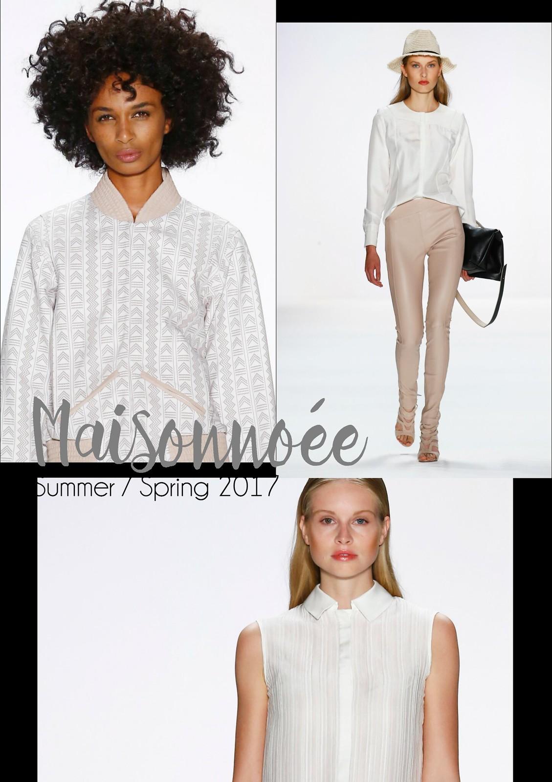 Key Looks Maisonnoée Spring Summer 2017 I Style By Charlotte