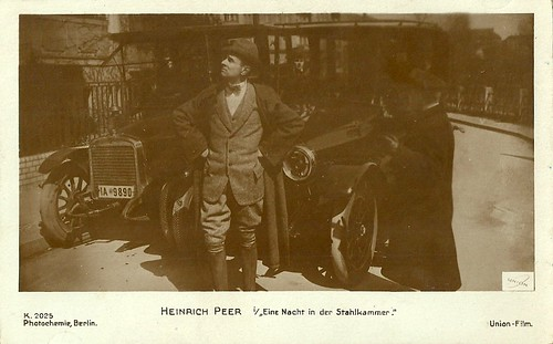 Heinrich Peer in Eine Nacht in der Stahlkammer