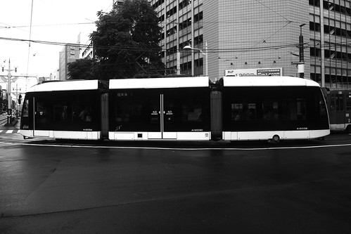 Tramcars at Sapporo on JUL 19, 2016 (6)