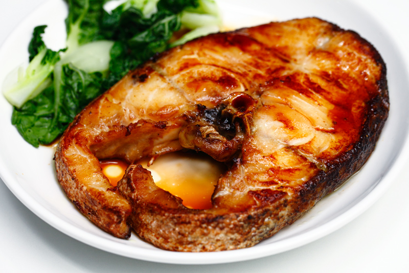 Alaksan Cod with Premium Soy Sauce