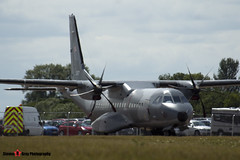 017 - S-019 - Polish Air Force - CASA C-295M - Fairford RIAT 2015 - Steven Gray - IMG_4401