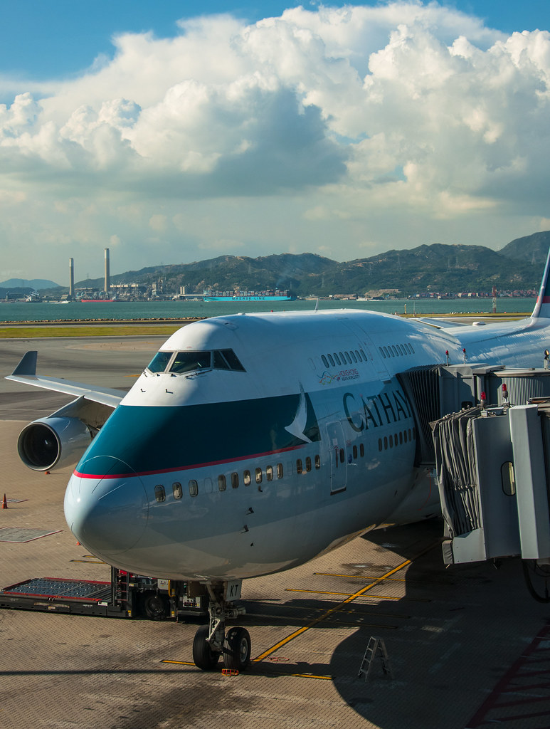 B-HKT 國泰航空 Cathay Pacific キャセイパシフィック航空 Boeing 747-400