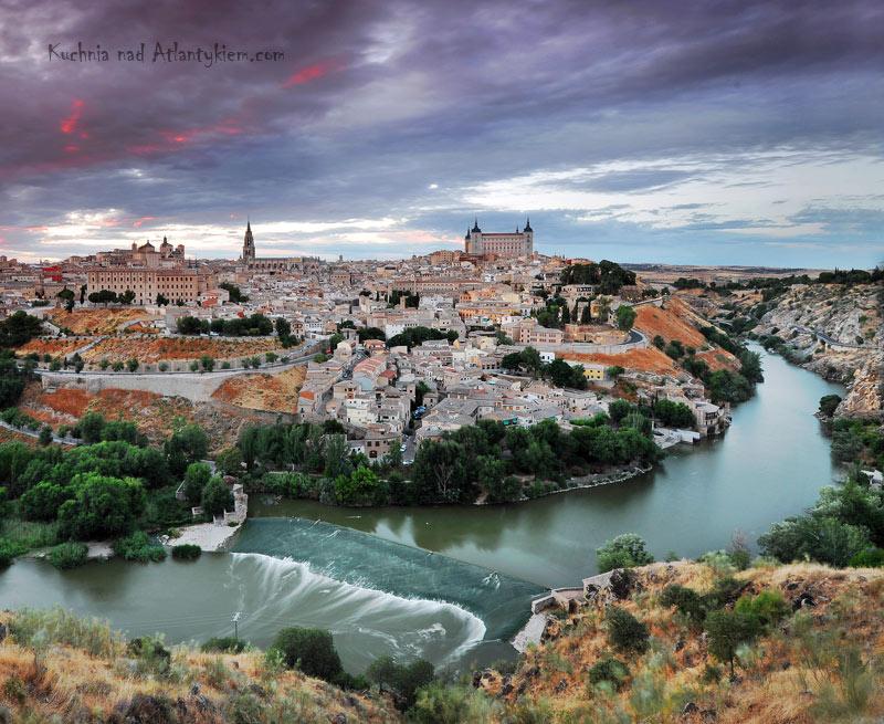 Toledo, Spain. Sunset