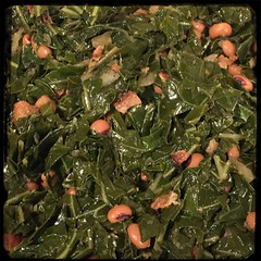 #PuertoRican #Collards #Beans #Homemade #CucinaDelloZio - s&p to taste