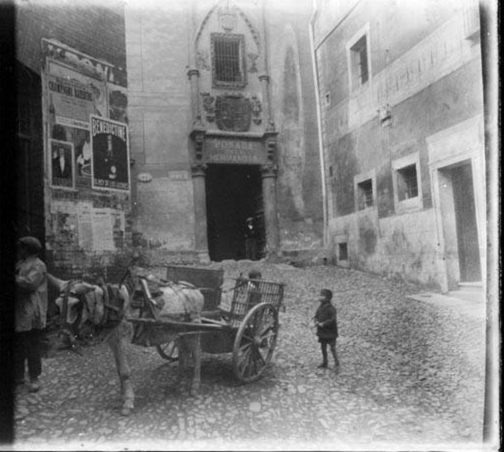Posada de la Hermandad hacia 1929. Fotografía de Óscar Torras i Buxeda © Centre Excursionista de Catalunya