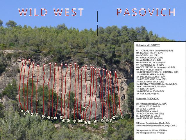 Vallirana - Les Casetes d'en Muntaner - Casetes Est -01- Subsector Wild West (2016)