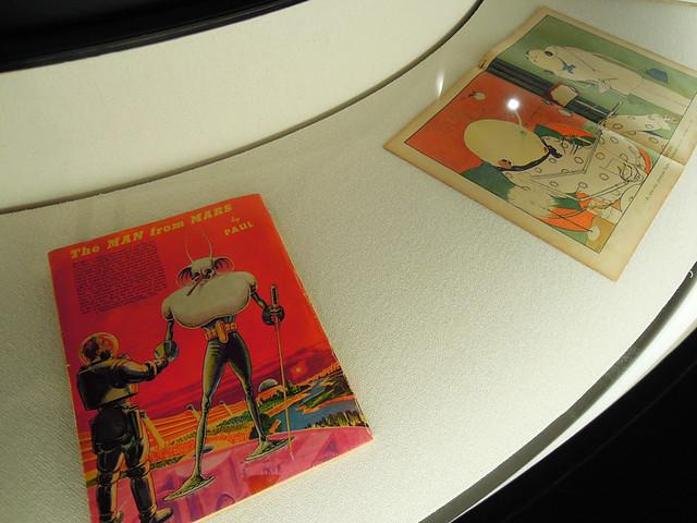 フランク・R・パウル《火星人の科学的想像図》、ポール・イリブ《インタビュー》