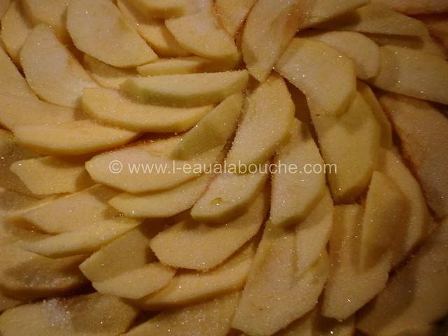 Tarte Fine de Pommes à la Noix de Coco © Ana Luthi Tous droits réservés 03