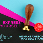 Kustom Haus Wax Stamps