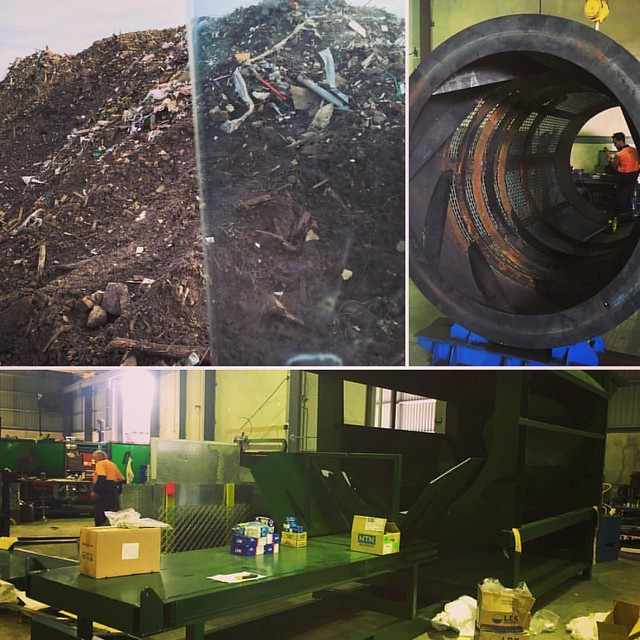 Our brand new #recycling conveyor with a trommel is near completion, our 1000m3 of soil is waiting to be screened to perfection 😄. We'll be able to process 30m3 per hour of mixed builders waste. Your Mixed #builders waste specialist in #Melbourne :a