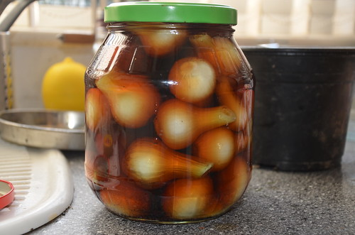 pickled onions July 16