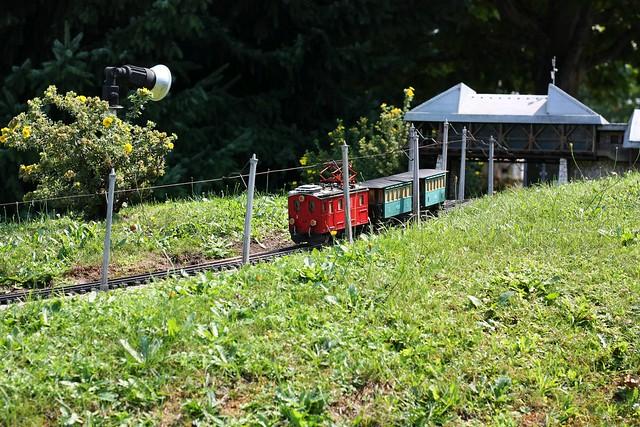 [204/366 Minimundus 2015] Zahnradbahn