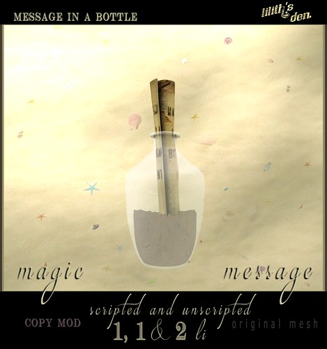 Lilith's Den  Message In A Bottle