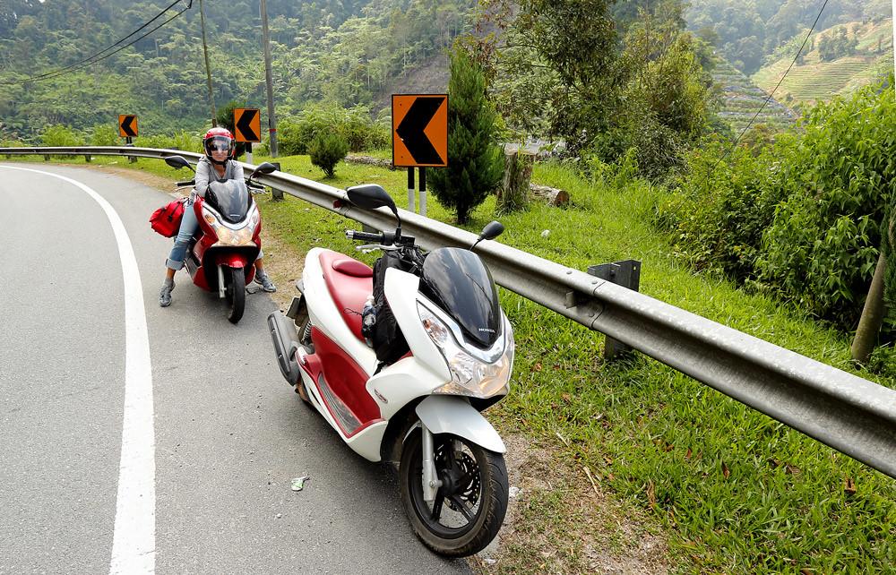 Мотопутешествия: Весеннее ралли по Малайзии на Honda PCX 150 (часть 2)
