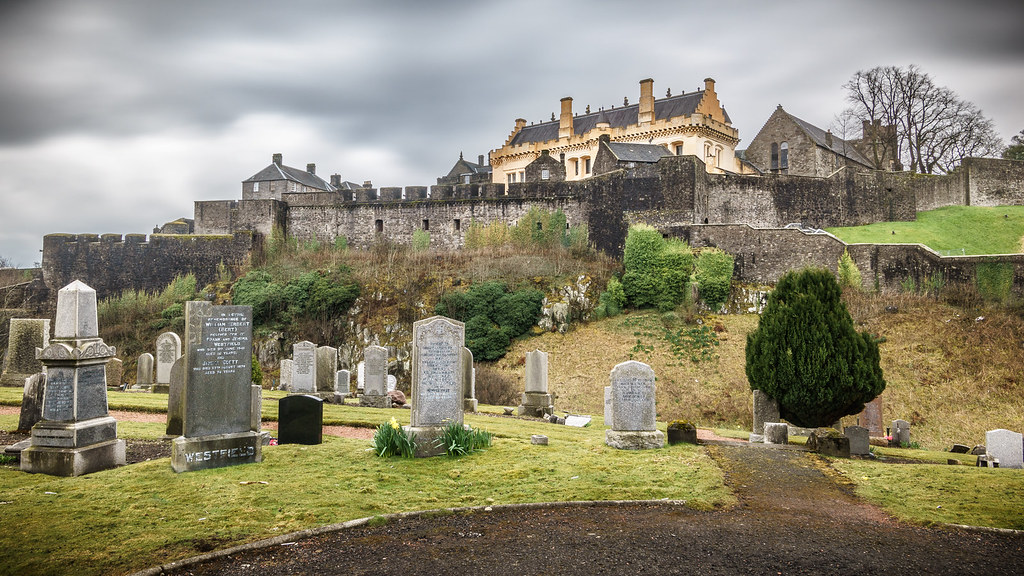 Stirling castle, Scotland, United Kingdom - Travel photography