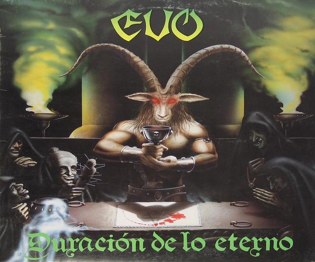 EVO DURACION DE LO ETERNO MEGARARE SPANISH HEAVY METAL