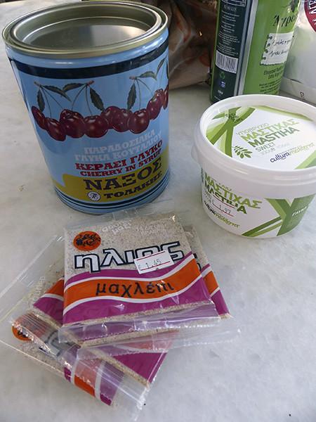 glyco, mastha sweet et mahlepi