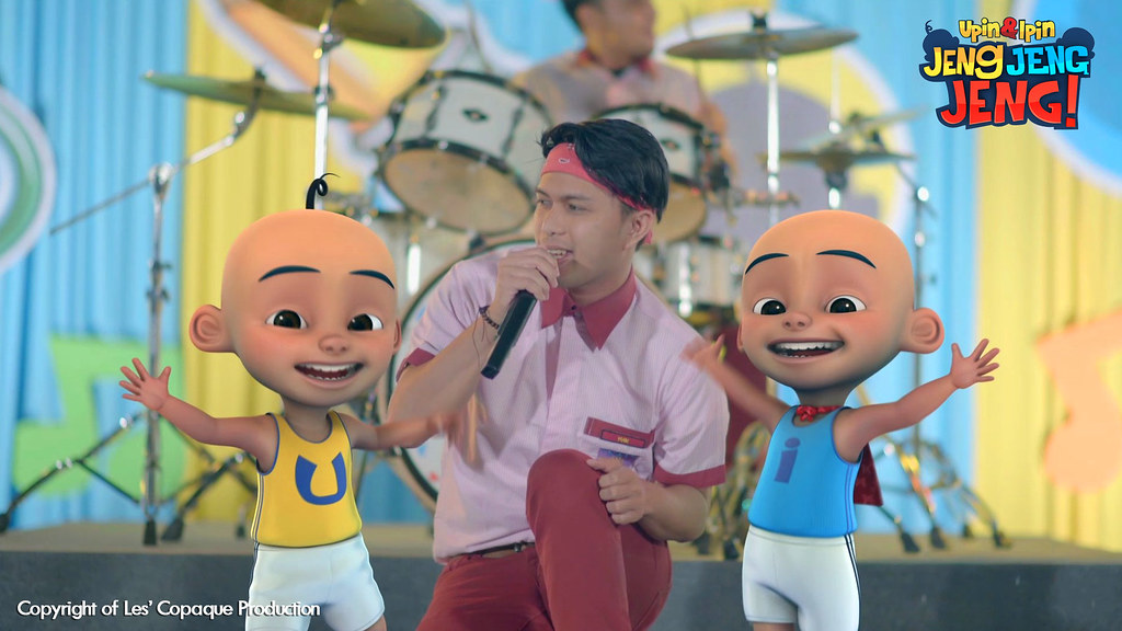 Official Music Video Filem Upin & Ipin Jeng, Jeng, Jeng!