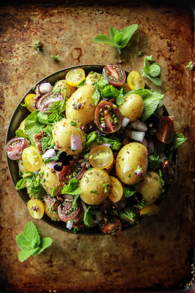 BLT Potato Salad from HeatherChristo.com