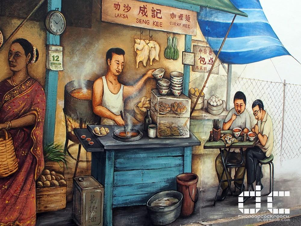 arts, mural, personal, tiong bahru, tiong bahru market, yip yew chong, singapore
