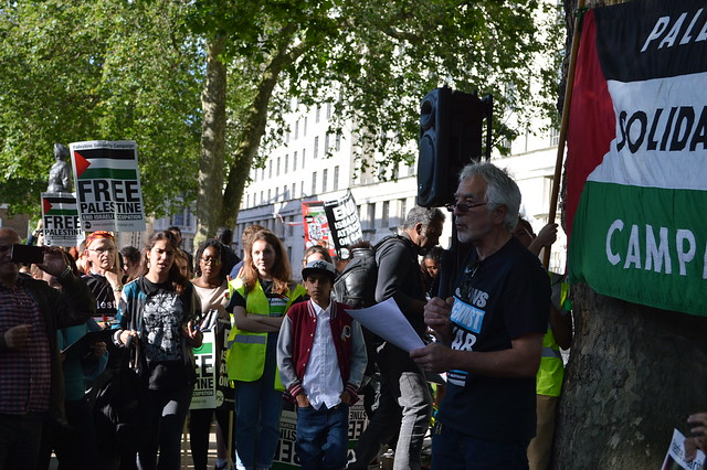 Glyn Secker, Jews for Justice for Palestinians