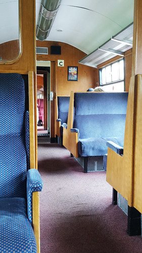 Railway carriage interior