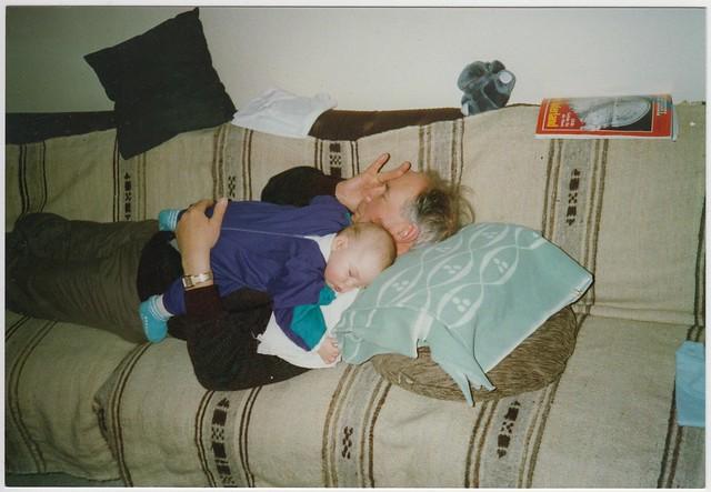Opa & me, Frankfurt ca. 1990