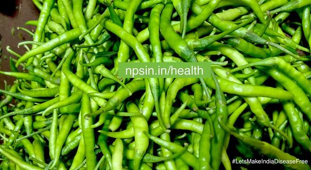 Health Benefits of Green Chilli