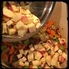 #BlackBean #Callaloo #Soup #Salad #Homemade #CucinaDelloZio - Caribbean yams