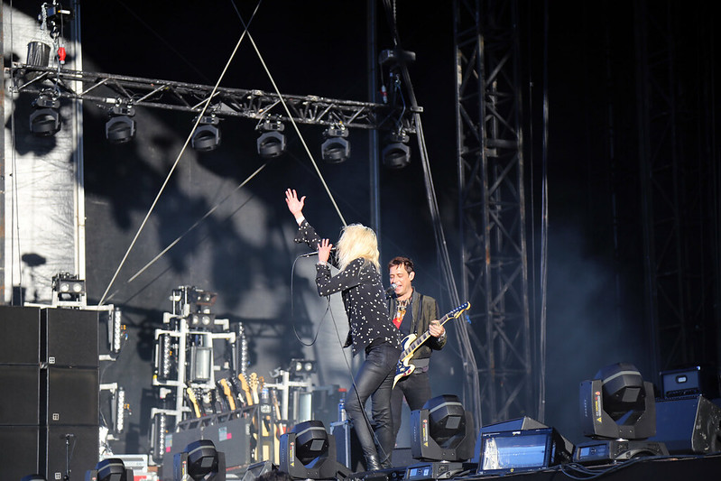 The Kills au Big Festival 2016