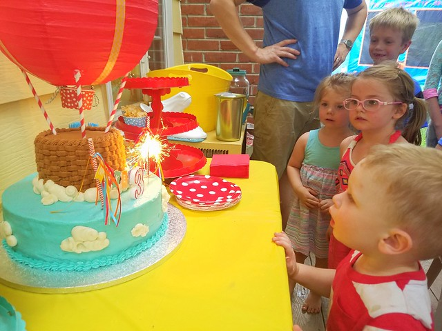 Paxton's 3rd Birthday!